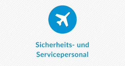 Sicherheits- und Servicepersonal